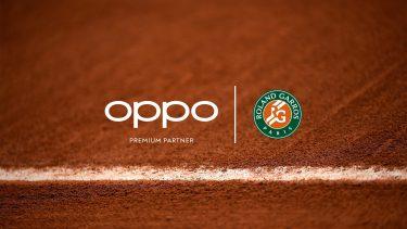 全仏オープン、OPPOと公式スマートフォンパートナー契約