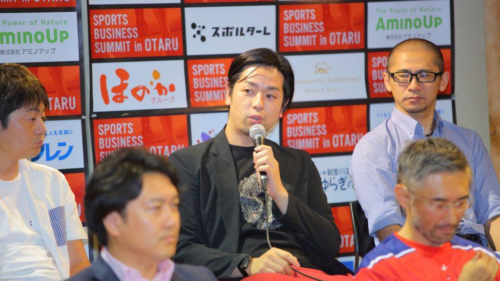Kenshiro Ikeda Voreas Hokkaido