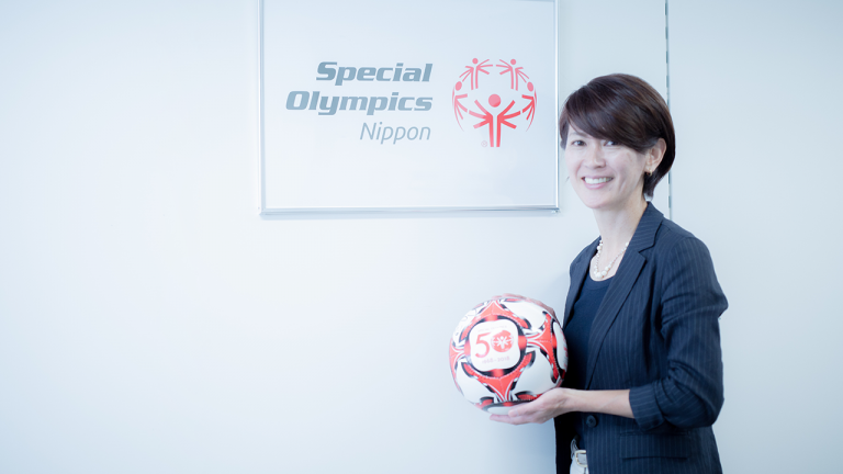 有森裕子、スペシャルオリンピック