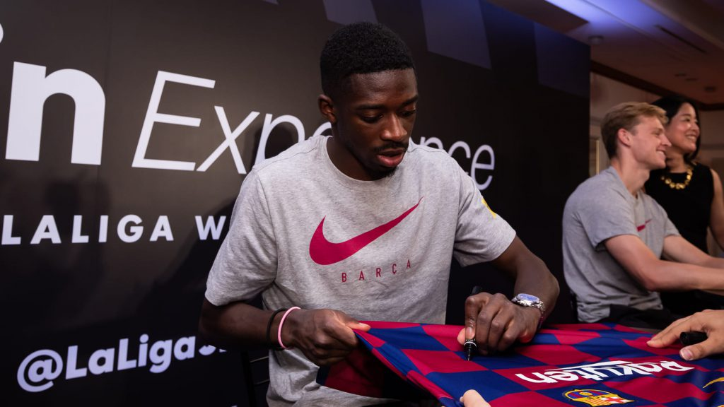 FC Barcelona Ousmane Dembele LaLiga