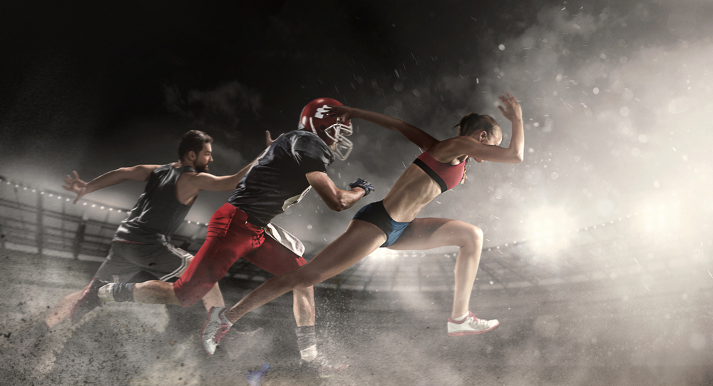 Field&Track American Football Basketball