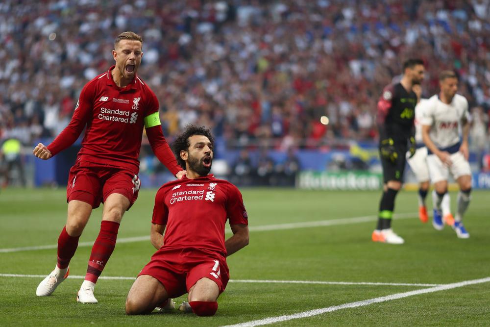 Liverpool Salah Henderson