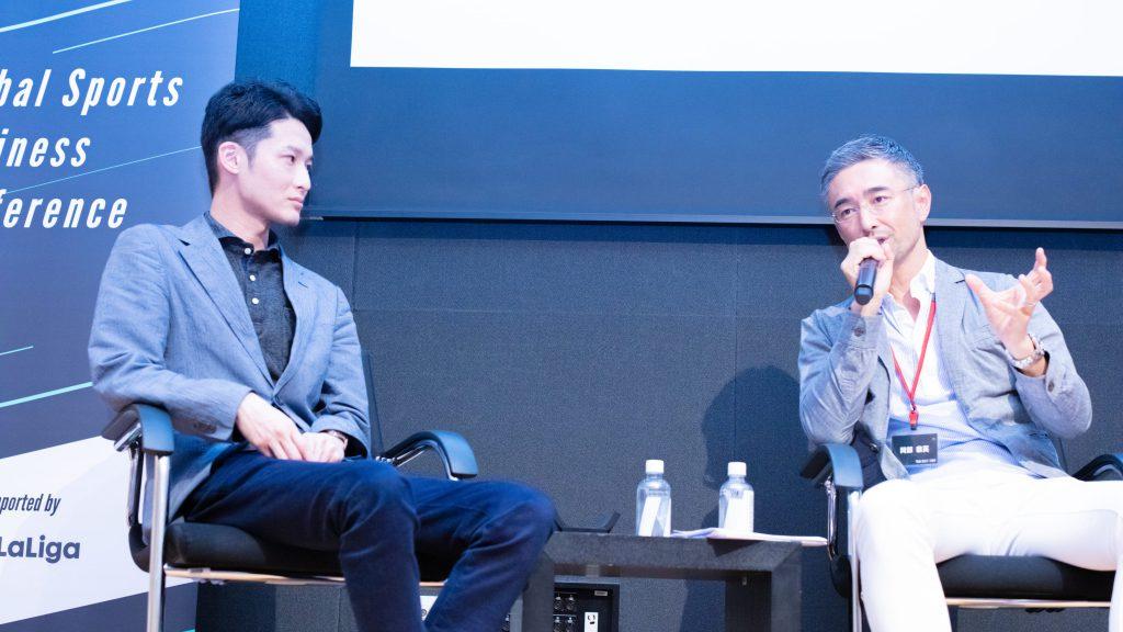 Global Sports Business Conference 2019 Yasuhide Okabe Yusuke Isoda