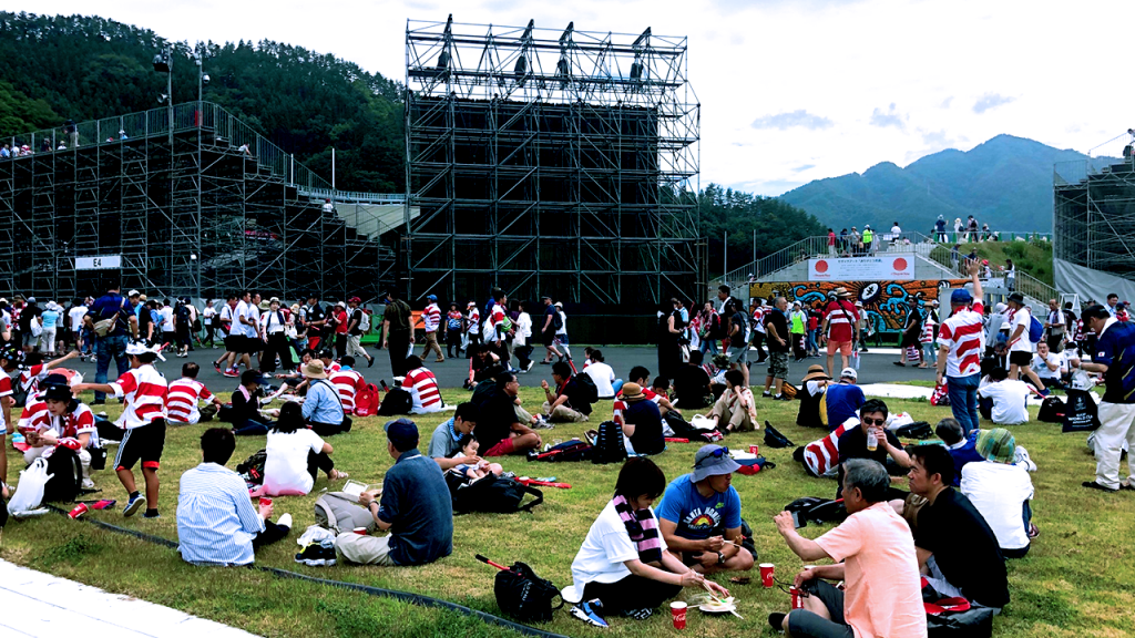 Japan Fiji Kamaishi Unosumai Memorial Stadium Lipovitan D Challenge Cup