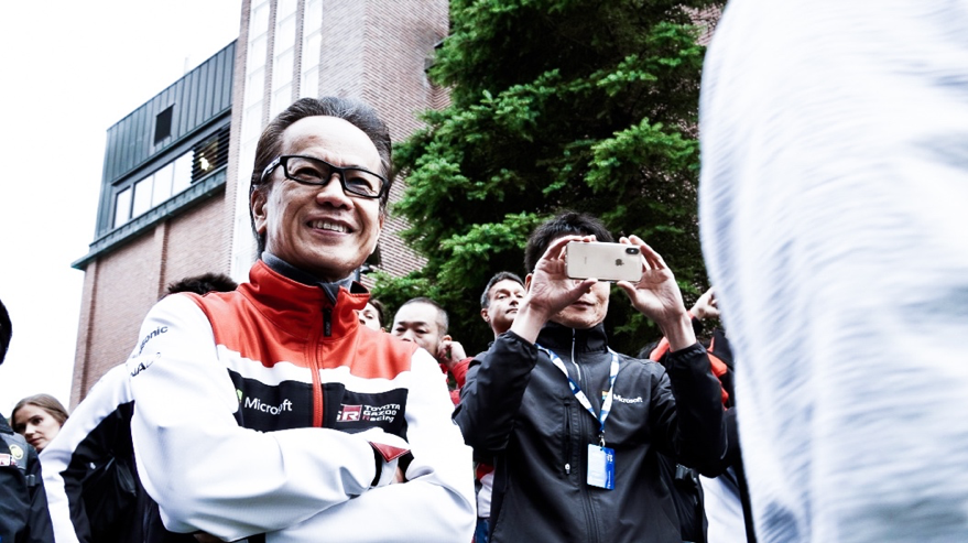 Shigeki Tomoyama TOYOTA GAZOO Racing TOYOTA