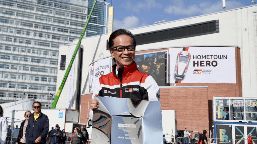 Motor sports TOYOTA GAZOO Racing Shigeki Tomoyama