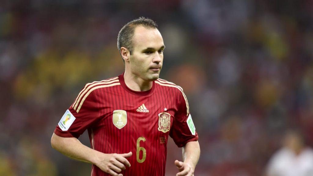 Spain Andres Iniesta Iniesta