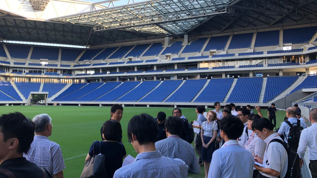 SportsBusinessJapan2019 Stadium Tour