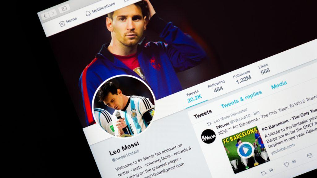 Twitter Leo Messi FC Barcelona