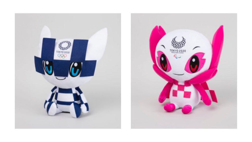 Olympic Paralympic Tokyo2020 Miraitowa Someity