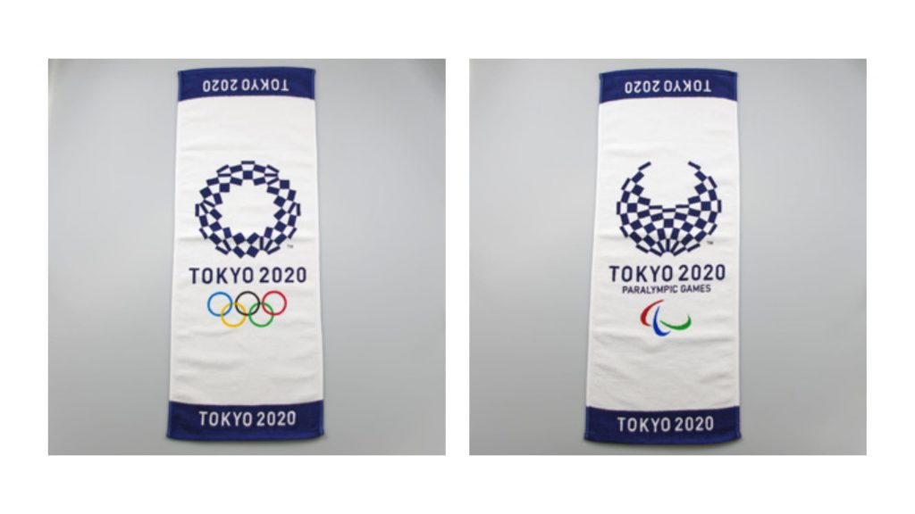Face Towel Olympic Paralympic Tokyo2020