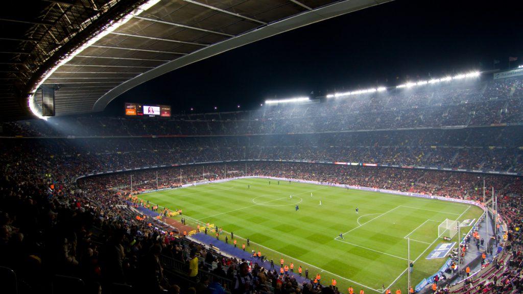 FC Barcelona Camp nou Stadium