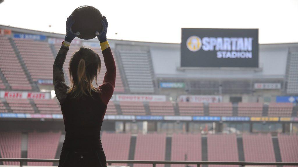 Spartan lace Sports Stadium
