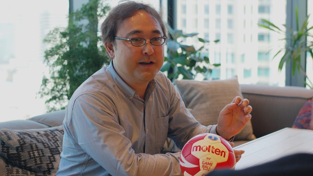 Satoshi Hamakawa Handball