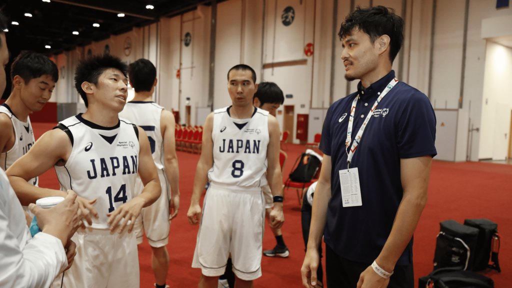 Takuma Watanabe People with intellectual disabilities Special Olympics Japan